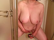 MarieRocks 56 Intense Cumming in the Shower