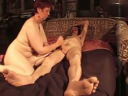 Fucking my wife hard while the house empty sucked and fucked well