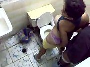 Toilet Hidden Cam Fuck