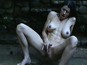 Hot wife out in public masterbating watch her squirt