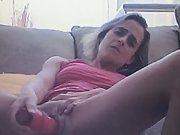 South africa pretoria wife having fun with new dildo she got