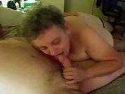 sub/slut sucking cock