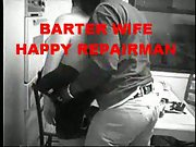 Hot wife mom of two barter player with black guy who did a repair